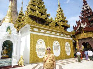 ミャンマー人のチョウさん